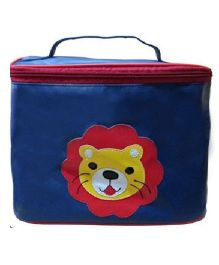 Kidzbash Travel Pouch Lion Design - Blue