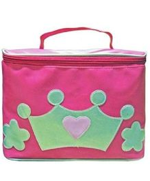 Kidzbash Travel Pouch Single Princess Design - Pink Green