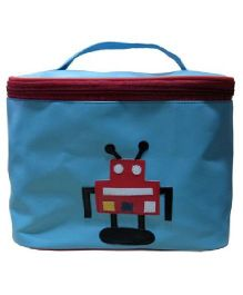 Kidzbash Travel Pouch Robot Design - Blue