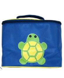 Kidzbash Travel Pouch Turtle Design - Blue Green