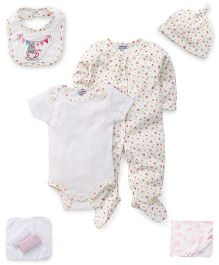 Mothers Choice 8 Pieces Infant Clothing Set - White
