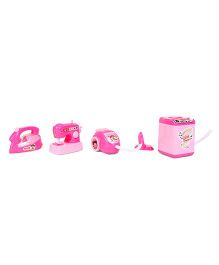 Smiles Creation House Hold Toys Set Of 4 - Pink