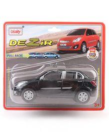 Centy Toy Car Swift Dezire - Black
