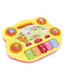 Baby Musical Keyboard - Yellow
