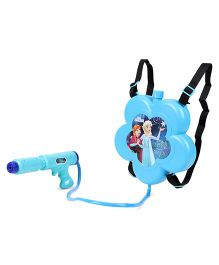 Karma KS Water Gun With Tank Frozen Theme Flower Shape - Blue