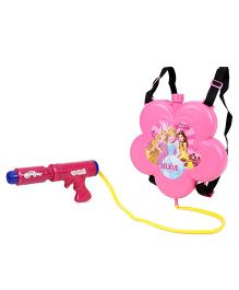 Karma KS Water Gun With Tank Disney Princess Flower Shape - Pink