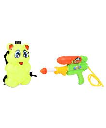 Karma Water Gun With Tank - Yellow And Green
