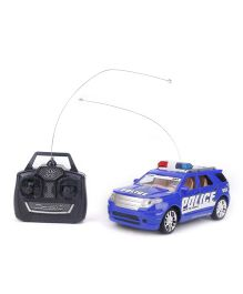 Remote Control Police Car - Blue