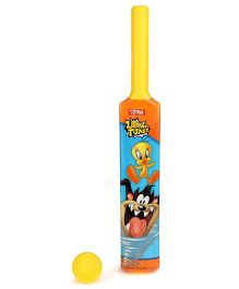 Looney Tunes Bat And Ball Set - Yellow
