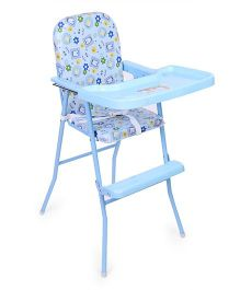 New Natraj High Chair 040 - Sky Blue