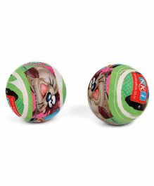 Looney Tunes Tennis Ball Pack Of 2 - Green