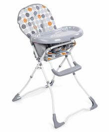 Babyhug Foodjoy High Chair - Grey