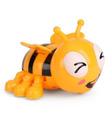 Playmate Wind Up Bee - Orange