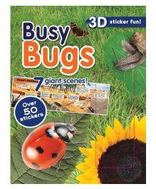 Busy Bugs 3D Sticker Fun - English