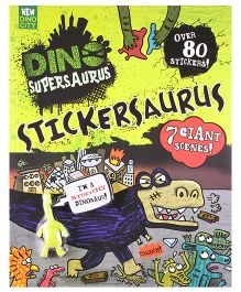 Dino Supersaurus Stickersaurus - English
