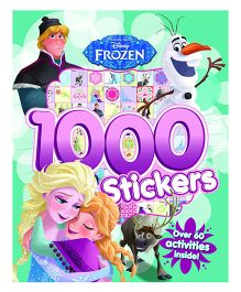 Disney Frozen 1000 Stickers - English
