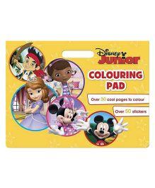 Disney Junior Colouring Pad - English