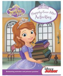 Disney Junior Sofia The First Happily Ever After Activities - English