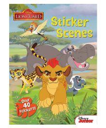 Disney Junior The Lion Guard Sticker Scenes - English