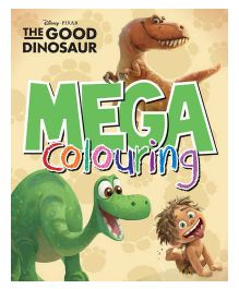 Disney Pixar The Good Dinosaur Mega Colouring - English