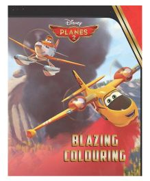 Disney Planes Fire & Rescue Blazing Coloring - English
