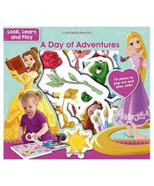 Disney Princess Look Learn And Play A Day Of Adventures - English