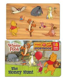 Disney Winnie The Pooh Find And Fit Story Book - English