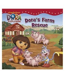 Nickelodeon Dora The Explorer Dora's Farm Rescue - English