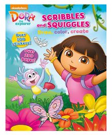 Nickelodeon Dora The Explorer Scribbles And Squiggles - English