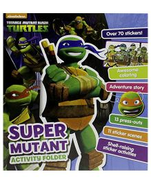 Nickelodeon Teenage Mutant Ninja Turtles Super Mutant Activity Folder - English