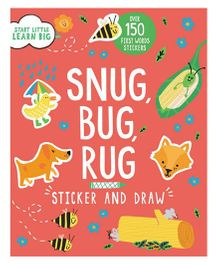 Start Little Learn Big Snug Bug Rug Sticker & Draw - English