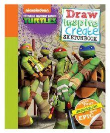 Teenage Mutant Ninja Turtles Draw Inspire Create Sketchbook - English