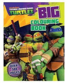 Nickelodeon Teenage Mutant Ninja Turtles Big Coloring Book - English
