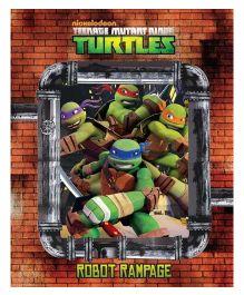 Teengae Mutant Ninja Turtles Robot Rampage - English