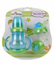 1st Step 3 Stage Feeding System Green Blue - 180 ml