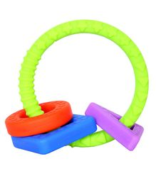 1st Step Silicon Teether - Multicolour