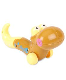 Playmate Wind Up Snake - Brown And Yellow