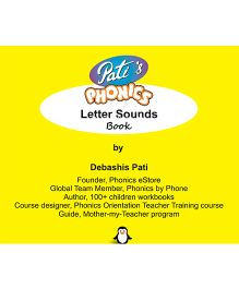 Pati's Phonics Letter Sounds Book - English