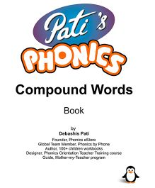 Pati's Phonics Compound Words Book - English