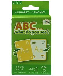 TrunkWorks ABC..What Do You See Cards Multi Color - 54 Pieces