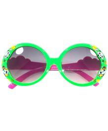 Tickles 4 U Panda Print Glasses -  Green