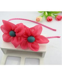 Tickles 4 U Flower Headband - Pink