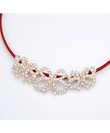 Tickles 4 U Daimond Emblishment Headband - Red