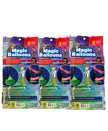 Ben 10 Magic Balloon Bunch Multi Color - 333 Pieces (Color may Vary)