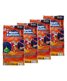 Tom And Jerry Magic Balloon Bunch Multi Color - 444 Pieces (Color may Vary)