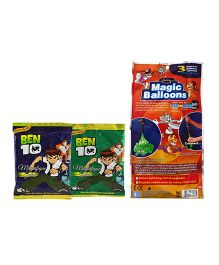 Tom And Jerry Magic Balloon Bunch With Gulal Multi Color - 111 Pieces (Color may Vary)