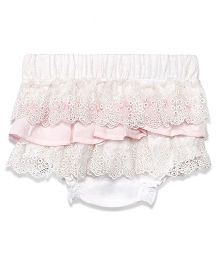 Chicabelle Skirt Lace Bloomer - Pink & White
