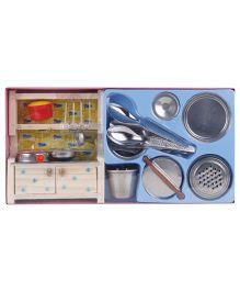 Sunny Nano Pure Veg Kitchen Set - Multicolor