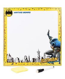 DC Comics Batman 2 in 1 Writing And Game Board - Gold And White