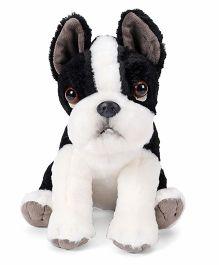 Wild Republic Pet Shop Boston Terrier Soft Toy Black And White - 29 cm